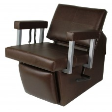 67ES Quarta Electric Shampoo Chair From Collins With Lever Leg Rest