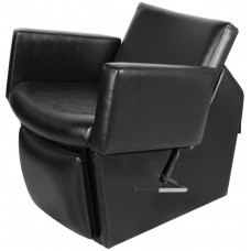 69ES Cigno Electric Shampoo Chair From Collins With Lever Leg Rest Plus 135 Chair Colors