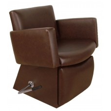6950L Cigno Shampoo Chair From Collins With Locking Leg Rest & 135 Chair Colors