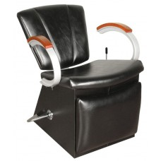 9751L Vanelle SA Shampoo Chair By Collins With Locking Lever Leg Rest & Choice of 135 Chair Colors