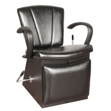 COL-4450L Quick Ship Sean Patrick Shampoo Chair With Locking Lever Leg Rest & Choice of 4 Vinyl Colors