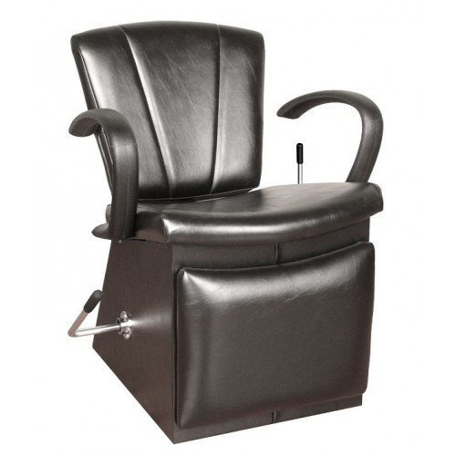 Collins 4450L Quick Ship Sean Patrick Shampoo Chair With Locking Lever Leg Rest & Choice of 4 Vinyl Colors