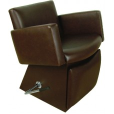 6950L Quick Ship Cigno Shampoo Chair From Collins With Locking Lever Leg Rest & Choice of 4 Vinyl Colors