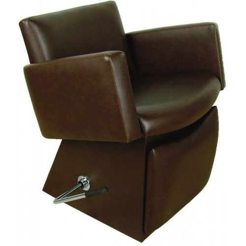 Collins 6950L Quick Ship Cigno Shampoo Chair With Locking Lever Leg Rest & Choice of 4 Vinyl Colors