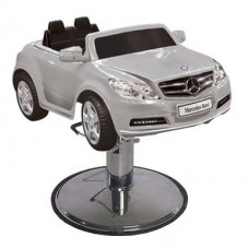 E550 Silver Mercedes Kids Styling Chair From Italica Beauty Equipment