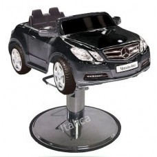 E550 Black Mercedes Kids Styling Chair From Italica Beauty Equipment