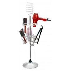 DH13-4 Dryer Stand, Hair Brush Holder & 4 Iron Holders From Pibbs