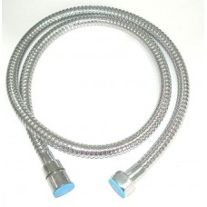 "0019 Metal 1/2""- Shampoo Sprayer Hose 46 Inch With Rubber Inner Core-Fits Any Head From Italica"