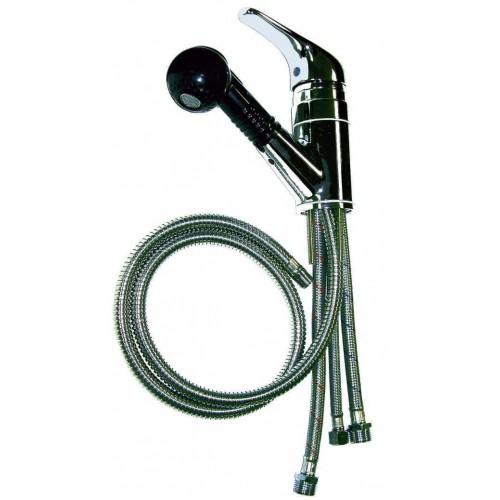 800A Marble Products Shampoo Sink Faucet Vacuum Breaker Check Valve, Hose Plus Dual Sprayer