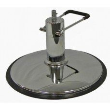 "Quality 24"" Diameter Styling Chair Pump Base Complete With 6 Inch Lift 450 Pound Weight Limit"