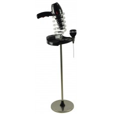 Italica Hair Dryer Stand With Brush and Styling Tool Holder 041