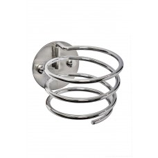 DH2 Corkscrew Hair Dryer Ring Wall Mount