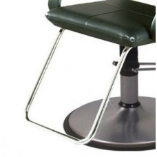 05ACF U Shape Bright Chrome Footrest For Belvedere Brand Styling Chairs