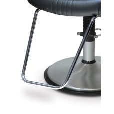 04ACF U Shape Tapered Bright Chrome Footrest For Belvedere Brand Styling Chairs
