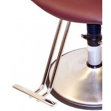 T Shape Chromed Tread Footrest For Belvedere Brand Styling Chairs