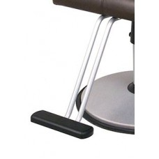 T Shape Powder Coated Footrest With Rubber Tread For Belvedere Styling Chairs