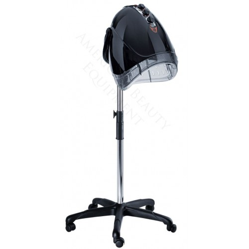 EGG 2 Speed Italian Conditioning Dryer Black With Adjustable Caster Base