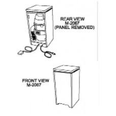 Hair Vacuum Central Cabinet Vacuum Choose Color For Cabinet Koken Takara Model M2067