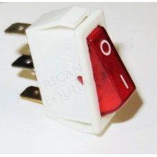 Italica D209 UV Sterilizer On  and Off Switch Red