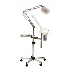 2462 Pibbs Trio Facial Steamer High Frequency Mag Lamp Combo Complete