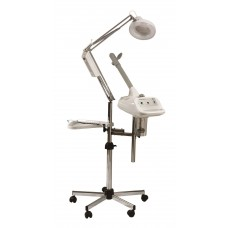 2558 Vapourel Italian Trio Facial Steamer High Frequency Mag Lamp Combo From Pibbs