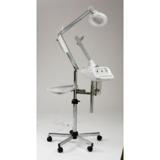 2557 Vapourel Combo Facial Steamer Mag Lamp Shelf and Stand