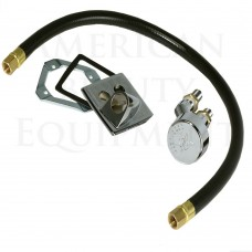 403C Vacuum Breaker Kit Complete With Hose, Receiver Plate and Atmospheric Vacuum Breaker USA Made In Stock