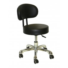 Italica PL212 Black Pedicure Stool Made Low Cost High Quality Look Now!