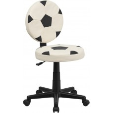 6171 Free Ship Soccer Ball Padded Vinyl Task Chair With Arms or Not from Italica