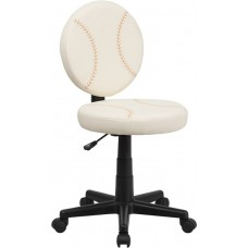 6179 Free Ship Baseball Padded Vinyl Task Chair With Arms or Not From Italica