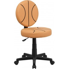 6178 Free Ship Basketball Padded Vinyl Task Chair With Arms or Not From Italica