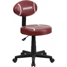 6181 Free Ship Football Style Padded Vinyl Task Chair With Arms or Not From Italica