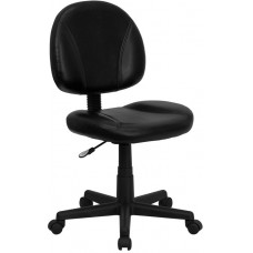 688 Black Leather Task Chair For Manicure Tables Free Shipping
