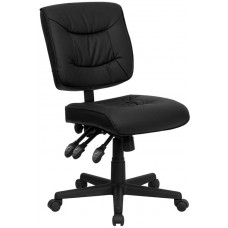 1574 Free Shipping No Arm Leather Task Chair For Manicures From Italica
