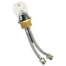 Jeffco 552 Shampoo Bowl Faucet Acrylic-Knob UPC approved