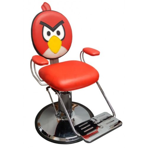 FREE SHIPPING At Home Children Red Bird Styling Chair