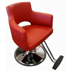 Italica Star Maker Red Hair Styling Chair Model L29 With Your Choice of Base
