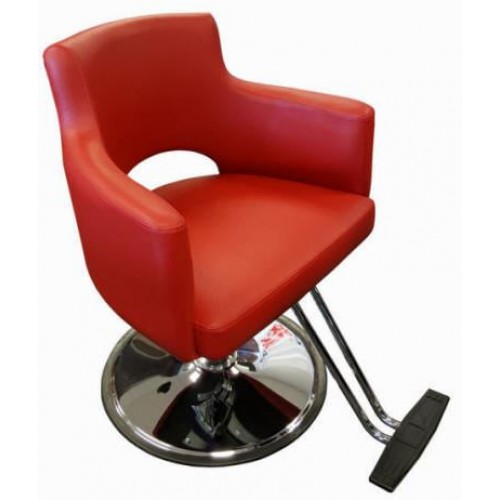 Italica L29 Star Maker Red Hair Styling Chair Model Your Choice of Base