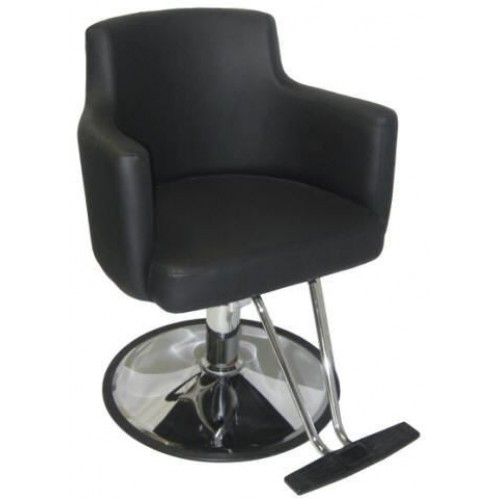 Italica L28 Class Act Hair Styling Chair Black Made For Top Salons