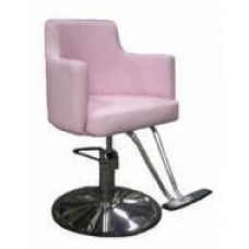 Pink Class Act Image Maker Hair Styling Chair For Kids or Teenagers In Hair Salons