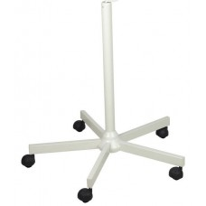 Lamp Stand For Magnifying Lamps Durable White Metal 5 Spoke Stand