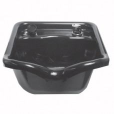 Gypsy 2 Acrylic Shampoo Bowl Black Only With Faucet Set From Marble Products