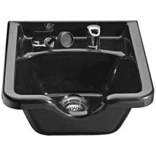 Italica 11B Hard Plastic Shampoo Bowl With UPC Coded Fixtures
