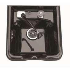 5350 USA ABS Shampoo Bowl With UPC Coded Fixtures and Optional Vacuum Breaker