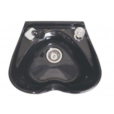 ABS Heart Shaped Wall Mount Shampoo Bowl With UPC Coded Faucet Model 5310