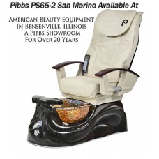 SPECIAL DEAL- Free Shipping PS65-2 San Marino Glass Bowl Pedicure Spa