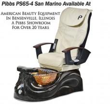 Pibbs PS65-4 Free Shipping San Marino Glass Bowl Pedicure Spa