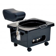 Pibbs DG105 Mobile Fiberglass Pedi Cart Portable Footsie Bath Pedicure Unit