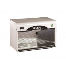 Pibbs 491A Sanital Large Glass Door Ultra Violet Sanitizer 110 Volt