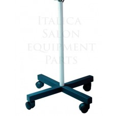 Lamp Stand For Italica Model 205 Magnifying Lamps All Metal With 4 Wheels